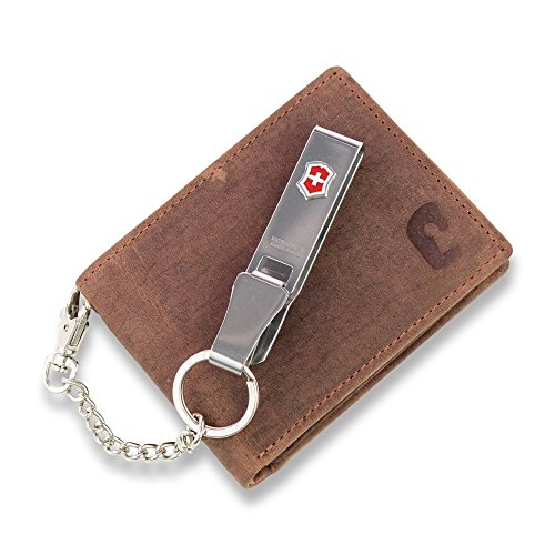 Safekeepers - portemonnee mannen in liggend formaat compact - portemonnee - RFID portemonnee - lederen portemonnee - portemonnee - portemonnee in zwart met betrouwbare RFID/NFC beschermingstechnologie