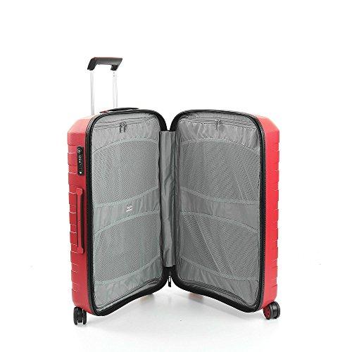 Roncato Trolley Moyen 69Cm 4R Rigide Box 2.0 - cm. 69 x 46 x 26 Capacité 80 L, Légère, Organiseur...
