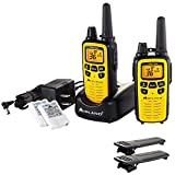 Midland LXT630VP3 36-Channel GMRS with 30-Mile Range NOAA Weather Alert, Rechargeable Batteries Charger