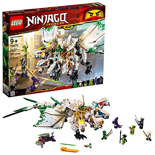 LEGO NINJAGO Legacy The Ultra Dragon 70679 Building Kit (951 Pieces)