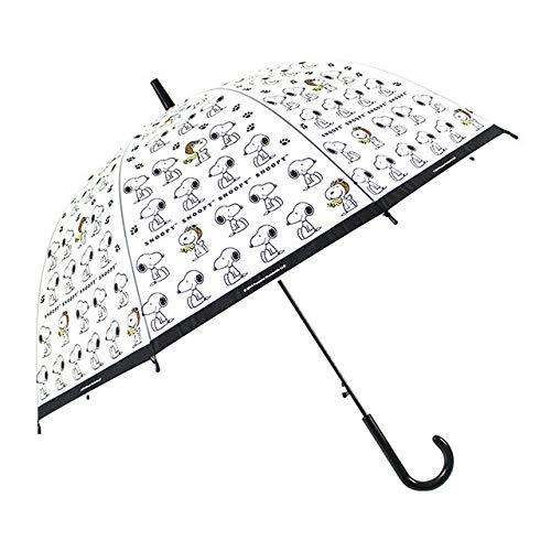 ERCZYO Paraguas Transparente Plegable Birdcage Paraguas de Mango Largo Paraguas Transparentes Modelos...