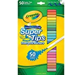 Crayola Super Tips Marker, waschbar, 50 Stück