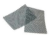 Grille d'aération (50 pièces) pour l'aération des joints et la protection des trous d'aération entre les briques contre les abeilles, les guêpes, ou les souris (pour le post-équipement)