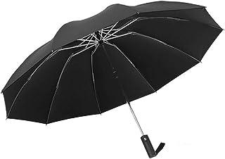 Inverted Umbrella, Windproof Umbrella,10Ribs Automatic Umbrella Teflon Coating Reverse Umbrella Portable Rain&Sun Travel Umbrella for Men/Women