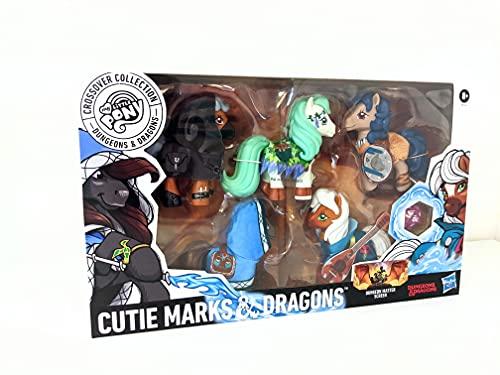 Asmodee - My Little Pony Dungeons and Dragons Crossover, Figure Personaggi per Avventure Gioco di Ruolo, con Dado e Schermo per il Dungeon Master, 298