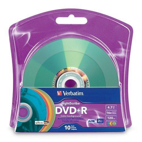 Verbatim 16x DVD+R LightScribe A...
