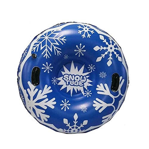 HappyL Anillo De Esquí Inflable De Invierno De Juguete De Nieve con Mango Durable Tubo De Nieve Anillo De Esquí Thick Floating Ski Ski Ring
