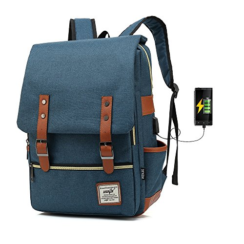 ACPbags Unisex Business Laptop Backpack College Student School Bag Travel...