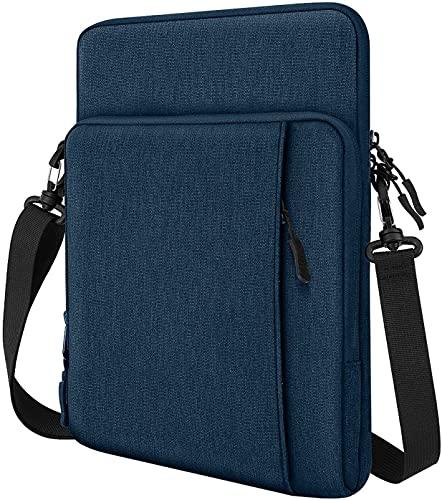 TiMOVO 13.3 Inch Tableta Funda de Tableta para iPad Pro 12.9 2021/2020, MacBook Air 13 Inch, MacBook Pro 13', Galaxy Tab S7+, Surface Pro X/7/6/5/4/3, Portátil con Múltiples Bolsillos, Índigo