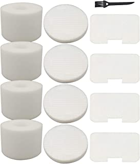 4 Pack Filters Kit Replacement for Shark Navigator Deluxe Upright Vacuum NV42, NV44, NV46, UV402 Part # XFF36