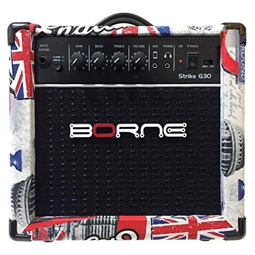 Amplificador Cubo para Guitarra Strike g30 15w - London Borne