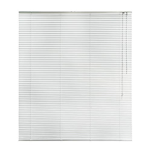 CONCEPT DECOR Tenda Veneziana in Alluminio Oscurante Dimensioni, Perfetta per Ufficio, Studio, Cucina, Bagno e Soggiorno (Bianco, 140 x 175 Cm)
