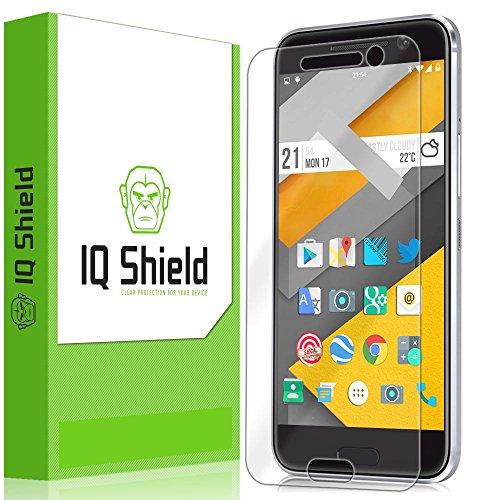 IQ Shield Screen Protector Compatible with HTC 10 (One M10) LiquidSkin Anti-Bubble Clear Film