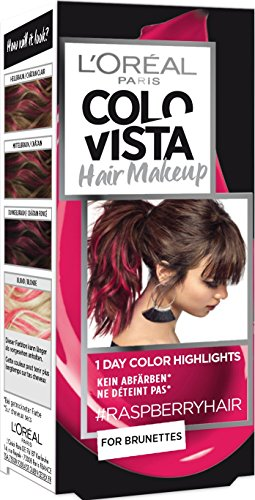 L'Oréal Paris Colovista Hair Makeup, 1-Day-Color-Highlights, 13 raspberryhair