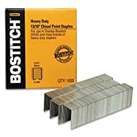 Stanley Bostitch bossb351316hc1 m heavy-duty staples-で使用00540- 0.50 in。w - 1.19 in。L by Bostitch Office