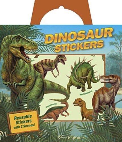 Peaceable Kingdom Press Dinosaur Reusable Sticker Tote