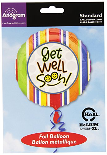 Amscan International Get Well Soon Smiles