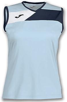 Alianza Arreglo Limo  Joma Camiseta Crew II Celeste-Marino S/M Mujer - Camiseta técnica sin  Manga, Mujer, Azul - (Celeste-Marino): Amazon.es: Deportes y aire libre