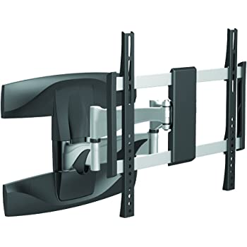 STARPLATINUM 高品質 37-65インチ対応 液晶テレビ壁掛け金具 TVセッターアドバンス M/Lサイズ ブラックシルバー PA124