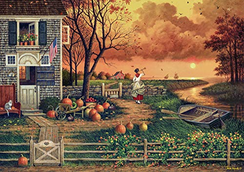 Buffalo Games - Charles Wysocki - Supper Call - 300 Large Piece Jigsaw Puzzle