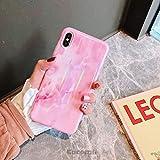 Cocomii Gradient Marble Armor iPhone 6S Plus/6 Plus Funda Nuevo [Mármol Granito Colorido] HD Patrón Vivo Nunca Se Desvanecen [Entallado] Case for Apple iPhone 6S Plus/6 Plus (GM.Pink)