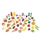 KidKraft 63510 65 Spielzeug-Lebensmittel, bunt