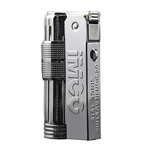 IMCO6700 Lighter Silver Large Logo Rare Design