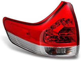 For 2015-2017 Toyota Sienna Taillight Tail Lamp Passenger Side Outer RH