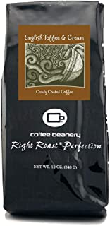 Coffee Beanery English Toffee and Cream 12 oz. (Whole Bean)