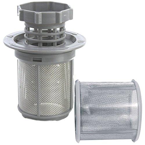 DeClean Sieb Filter Abwasser 3 TLG. Spülmaschine Geschirrspüler Ersatz für 427903 00427903 Constructa