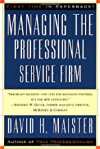 Managing the Professional Service Firm