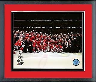 Chicago Blackhawks 2015 Stanley Cup Championship Team Celebration Photo (Size: 12.5