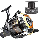 Dr.Fish Hercules-II Carp Fishing Spinning Reel Sea Coarse Baitrunner Baitfeeder 10+1 Stainless Steel