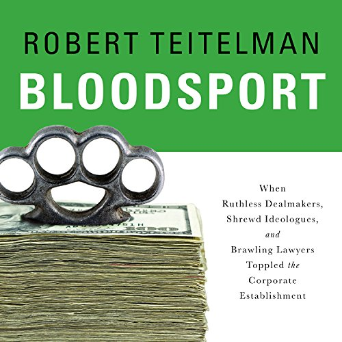 Bloodsport audiobook cover art