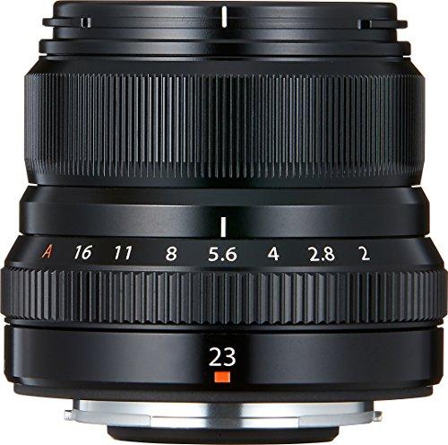 Fujifilm Fujinon - Lente para objetivo, XF 23 mm F2 R WR, negro