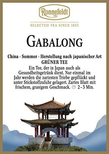 Ronnefeldt - Gabalong - Grüner Tee, Herstellung Japan-Art - 100g