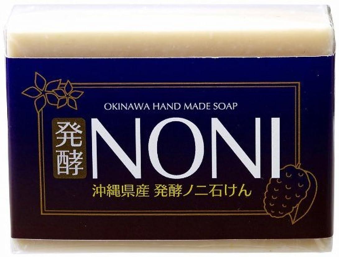 施設肉市町村沖縄 手作り ナチュラル洗顔 NONI石鹸 100g×4個 GreenEarth 発酵ノニを使用した保湿力の高いナチュラルソープ