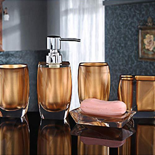 CZOOR bad keukengerei set Glaze creatieve contracted set badpak badkamer keramische sanitair 5 stks bad wassen huwelijk cadeau