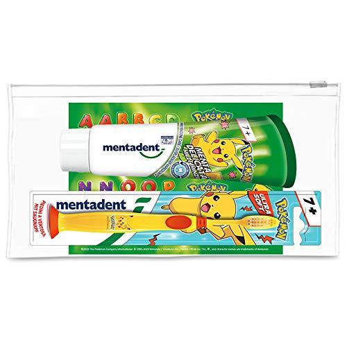 Mentadent Zahnpasta und Zahnbürste, 150 g