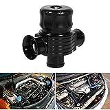 Blow Off - Valvola Turbo Pop Blow, universale 25mm / 1 pollici auto valvola di scarico in lega di alluminio valvola di scarico con adattatore, morsetto e tubo