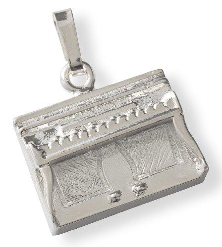 Anhänger, Klavier-Silber 925, massiv, Gewicht: 8 g