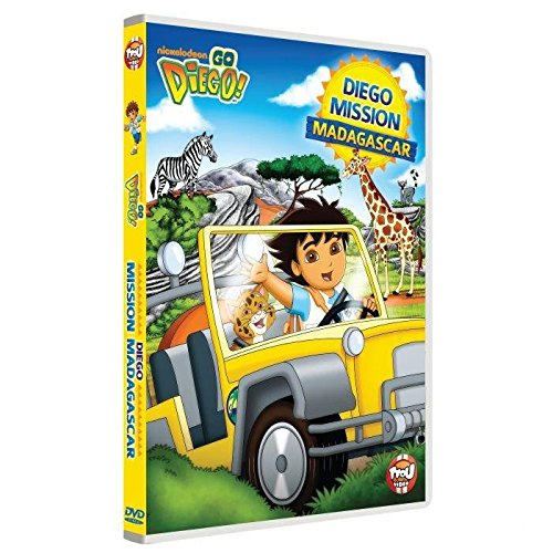 Go Diego! - Diego mission Madagascar [Francia] [DVD]