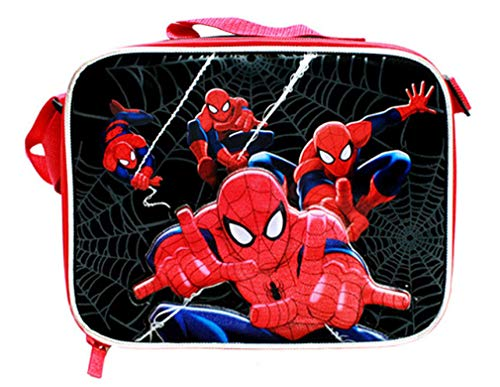 Marvel Ultimate Spiderman Spider-man Soft Sided Lunch Kit Box Lunch Bag