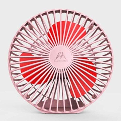 With Clip USB Charging Small Fan,Portable Desktop Small Fan,56 x 39.7 x 39.7Cm, a,Hand held (Color : C)