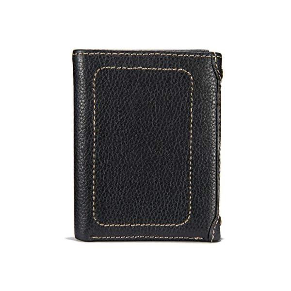 Carhartt Men's Pebble Trifold Wallet, Black, One Size