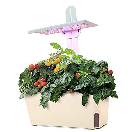 CRZJ Planta Power Intelligent Planting Machine, Familia de Interior Cultivo de Vegetales Vegetales Albahaca Parsley Planta Planta Crecimiento Suplemento Luz