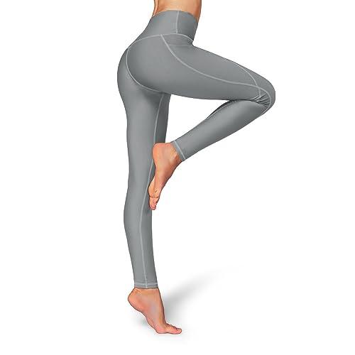 Occffy High Waist Out Pocket Yoga Pants Womens Tummy Control Workout  Leggings 34b751442c7c