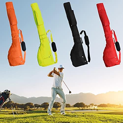 Tixiyu Bolsa de golf, mini bolsa de viaje de golf, bolsa de almacenamiento portátil para palos de golf, mochila de gran capacidad, bolsa de golf plegable para amantes del golf