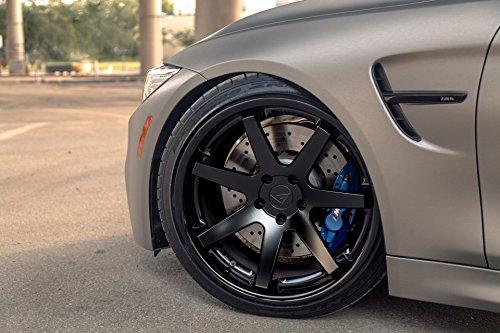 "20"" Inch Ferrada FR1 Matte Black/Gloss Black Lip Concave Wheels Rims Only | Set of 4 | R Motorsports | Fits INFINITI G37 SEDAN"