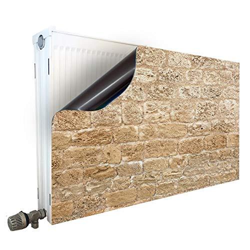Magneet radiatorombouw radiatorafdekking verwarmingsombouw radiator motief stenen